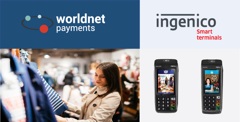 Worldnet Completes Certification with Ingenico's Telium TETRA Range of Payment Solutions